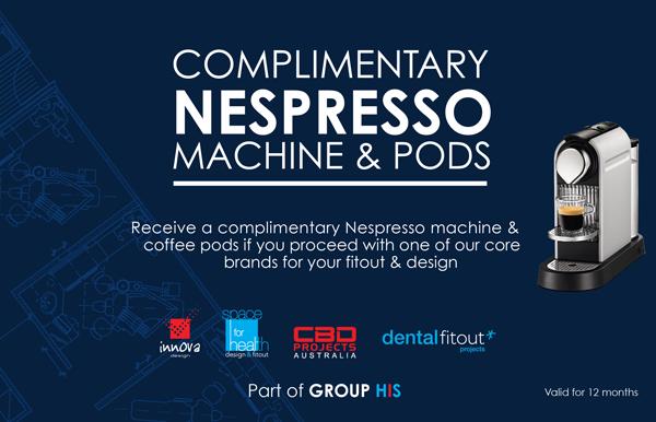 Dental Fitout ADX16 Nespresso Voucher Special